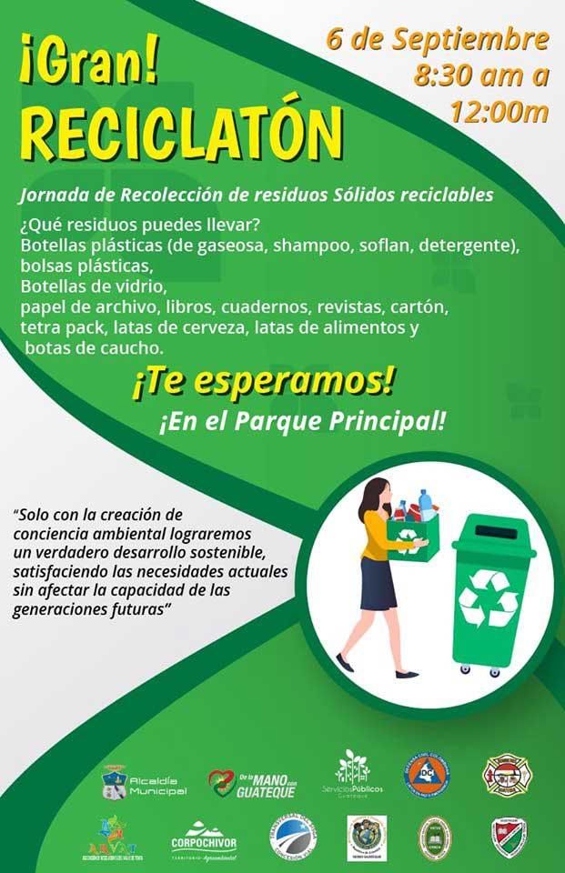 Guateque - Gran reciclaton - 2019