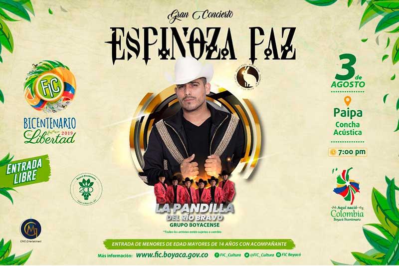 Espinoza Paz -Paipa- Fic 2019