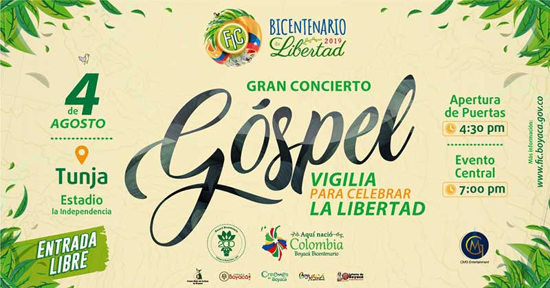 Gran concierto gospel Vigilia para celebara La Libertad Fic 2019