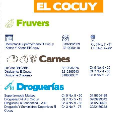 Directorio de abastecimiento El Cocuy, Boyacá, Provincia de Gutiérrez