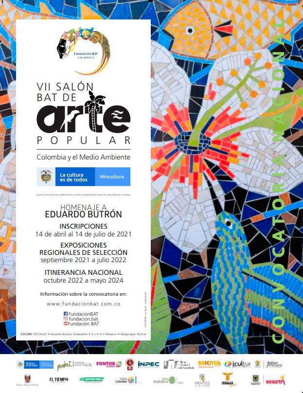 CONVOCATORIA NACIONAL: Séptimo Salón BAT de Arte Popular